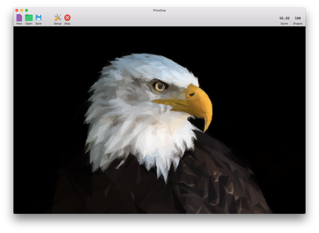 Primitive for macOS